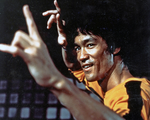 BRUCE LEE - Hong Kong-born martial arts expert and film actor